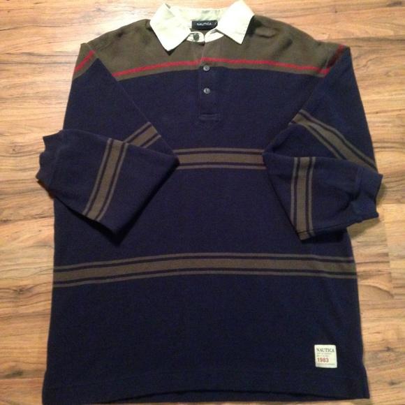 35b794256c4 Nautica Shirts | Thermal Polo Size Xl Nwt | Poshmark